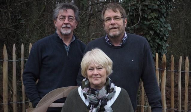 v.l.n.r. Kees van den Akker, Regina Roggeveen en Jeroen Merkx