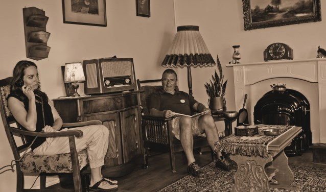 De 'herinneringskamer' uit de jaren vijftig in De Grootenhoek