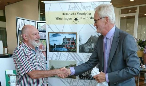 Cultuurwethouder Piet Vreugdenhil onthulde de nieuwe naam.