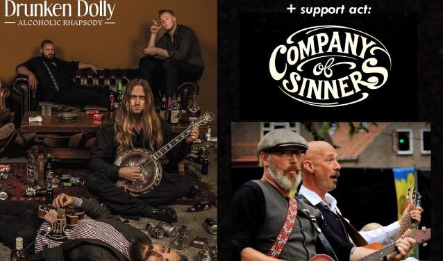 Drunken Dolly bezingt de roes en de kater. Company of Sinners komt met doorleefde verhalen voor de gevoelige nekharen.