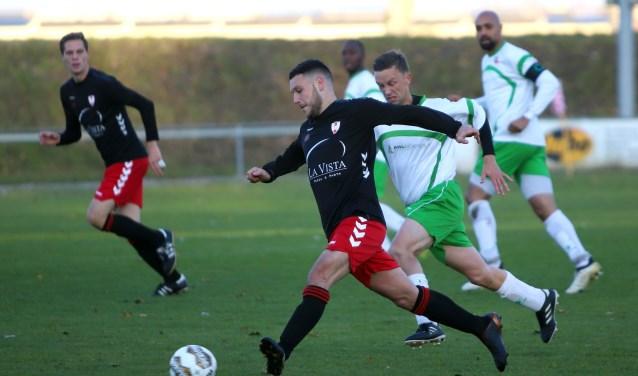 Hekelingen gaf zaterdag een 2-0 voorsprong uit handen in het duel met TransvaliaZW.