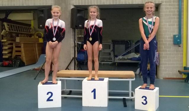 De meiden van WIK turnden in de tweede ronde van de turncompetitie beter dan in de eerste