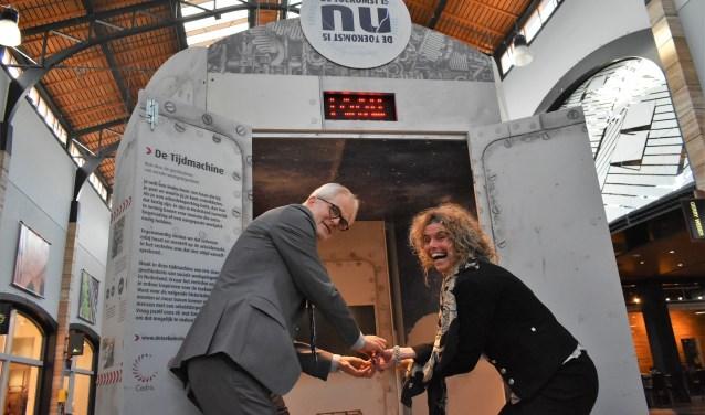 'Zonder geschiedenis, geen toekomst', aldus wethouder Piet Vreugdenhil.