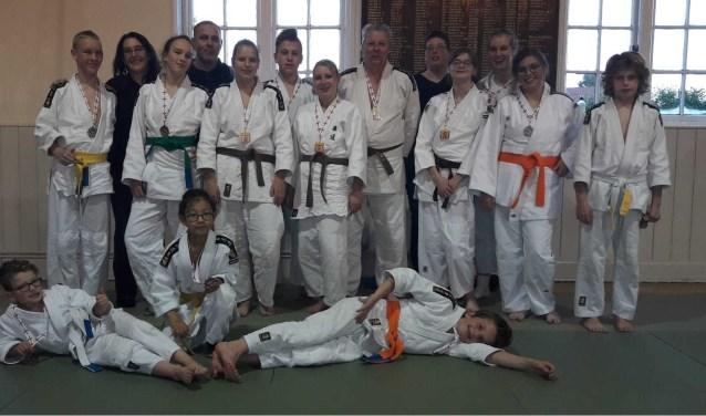 De judoka's van Judo Club Middelharnis behaalde een mooi succes in Engeland.