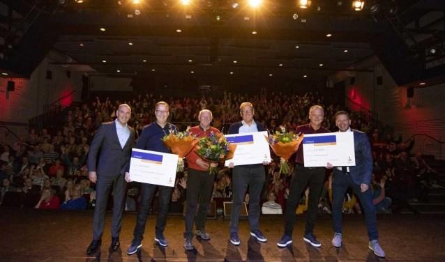 De winnaars van de Rabobank Clubkas Campagne.