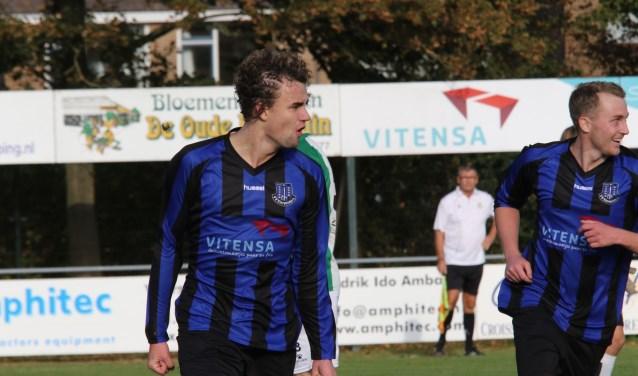 Vincent Bieling scoorde weer voor Vierpolders en was een van de weinigen die zijn niveau haalde (Archieffoto: Wil van Balen)