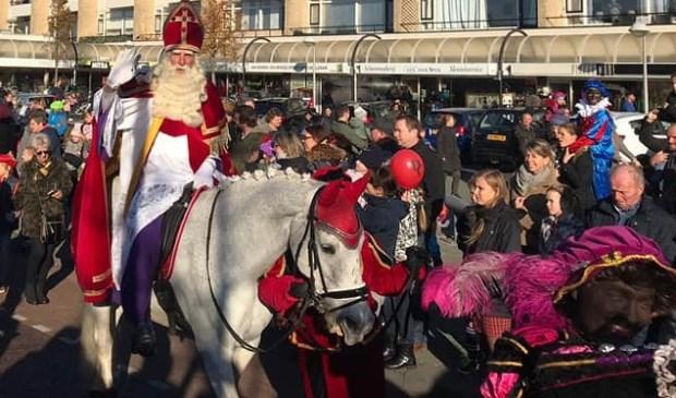 De Sint bezocht zaterdag Wateringen.