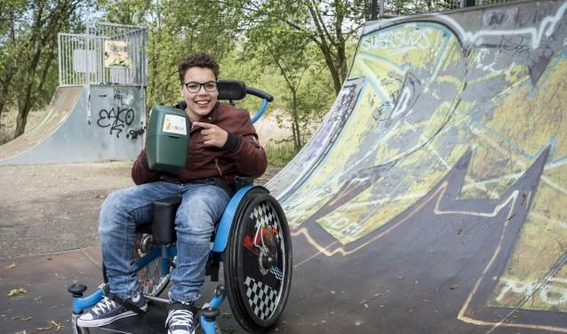 NSGK kinderambassadeur Merijn: 'Door mijn handicap zijn er dingen die ik niet kan. NSGK zorgt voor aanpassingen.'