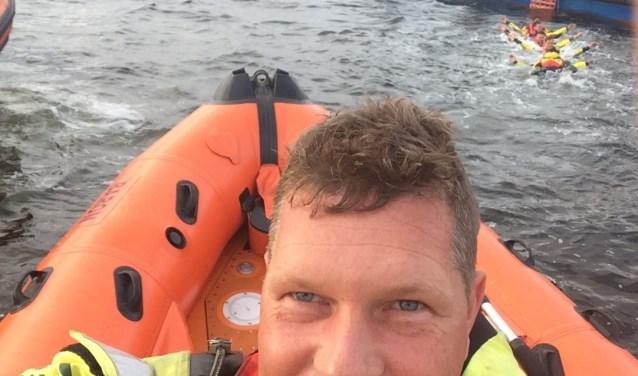 Coen van der Linde, schipper en leider van de KNRM Ouddorp, is een van de vrijwilligers waarop gestemd kan worden.