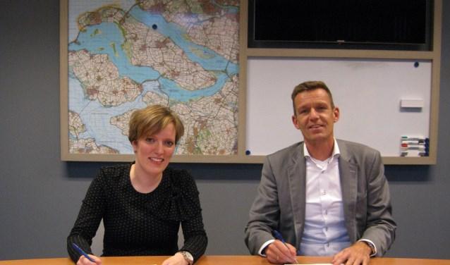 Fransie vd Tonnekreek van Ooms Construction BV en Daan Markwat