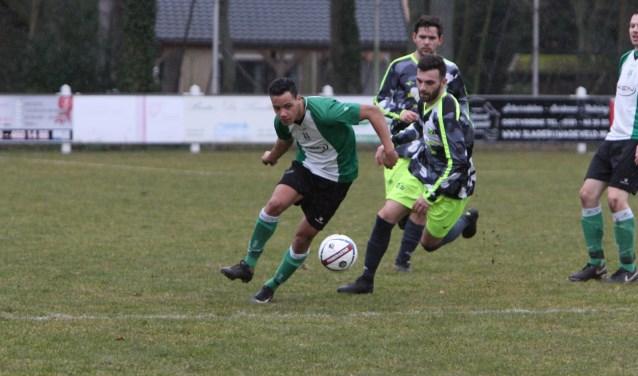 Andrë Breinburg scoorde voor OVV in de uitwedstrijd bij Piershil. (Archieffoto: Wil van Balen).