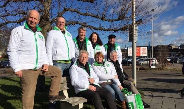 De fractieleden van Brielle en Westvoorne hebben afgelopen zaterdag de fractie van Hellevoetsluis ondersteund op de Struytse Hoeck