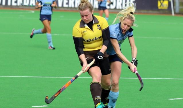 De dames van HV Spijkenisse wisten zondag te competitie te hervatten met een zege bij HC Voorne.