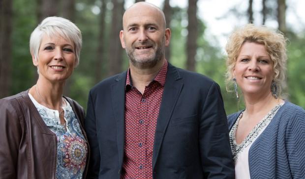 Registermediators Charlotte Verbraak, Gert Vonk en Jolanda Kruf