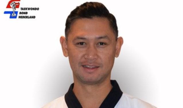 Docent Yance Deflers van Taekwondo Voorne-Putten won brons op de open Duitse kampioenwschappen.