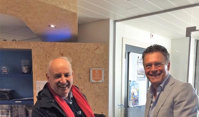 De heer Grootens treft elk half jaar een oud-collega tijdens een cultureel uitje. Dit keer bezochten zij het Watersnoodmuseum.