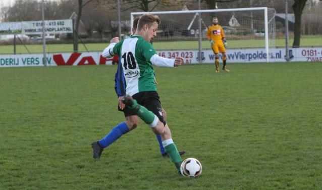 Pascal van Hulst scoorde in de laatste twee duels maar liefst acht keer voor OVV. * Archieffoto: Wil van Balen.