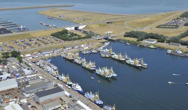 Het gebied waar Vlaggtjesdag Stellendam plaats zal vinden
