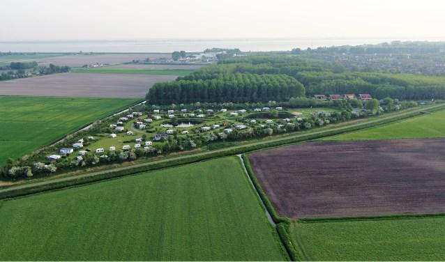 Naturistenvereniging 'De Brongaard' heeft een prachtige locatie gelegen aan het Trambaanpad Foto: Jan Maasdam