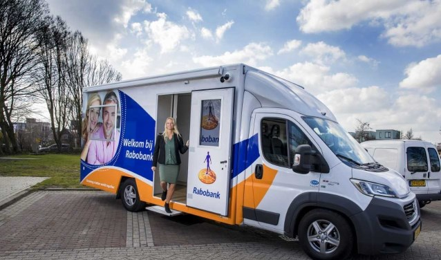 Het mobiele kantoor staat vanaf oktober wekelijks op maandag aan het Graaf Florisplein in 's-Gravenzande. Foto: (PR)