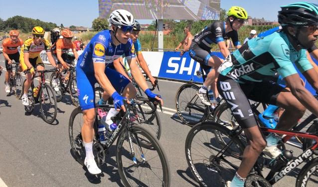 Fabio Jakobsen, hier in actie tijdens het NK, zal zaterdag in Zuidland te zien zijn in de ploegentijdrit voor regioteams.