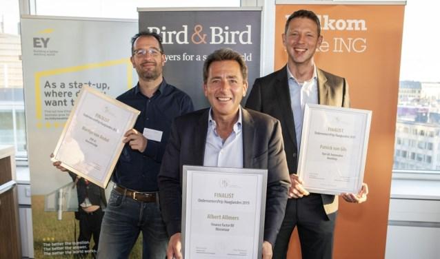 JEM-id behoort tot één van de drie finalisten van de OndernemersPrijs Haaglanden 2019. Hans van Oostrum