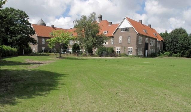 Het terrein naast de voormalige Rijks HBS (archieffoto)