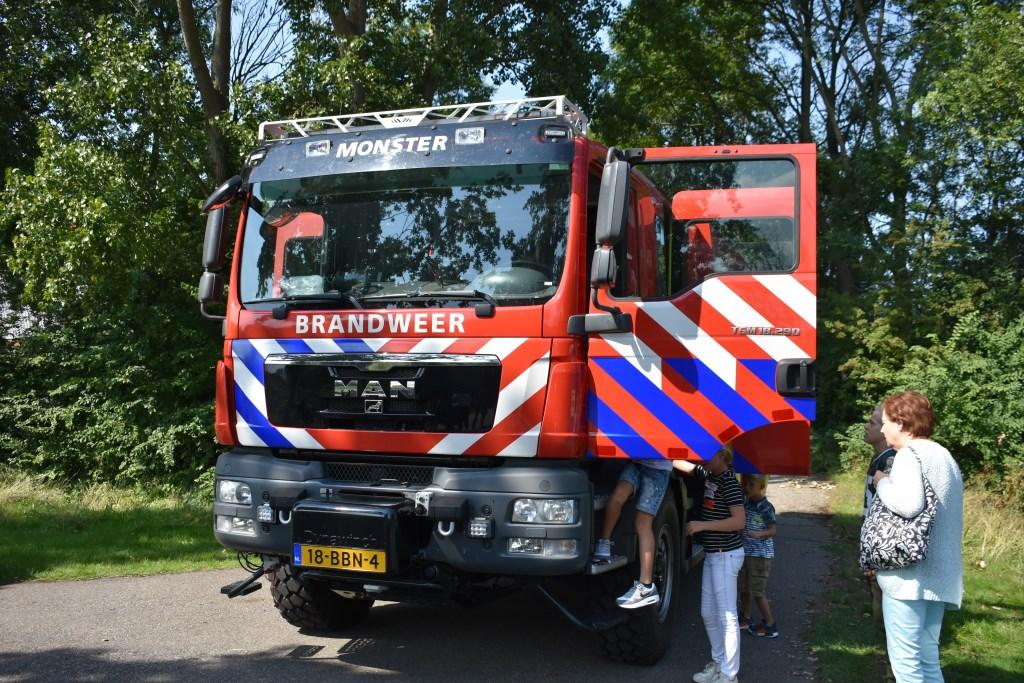 Ook Brandweer Monster was present.  © Groot-Westland.nl