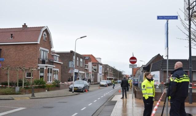 In verband met de reconstructie was de Sand Ambachtstraat enige tijd afgesloten voor het normale verkeer.
