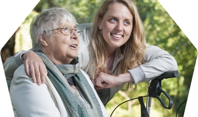 Een dikke week lang leggen Zonnebloem vrijwilligers zoveel mogelijk huisbezoeken af bij mensen met een lichamelijke beperking.