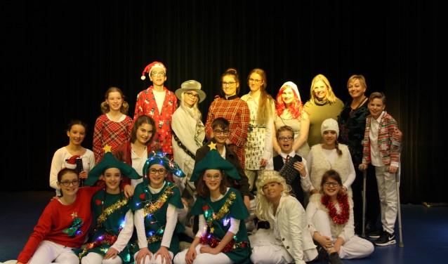 Het project leverde niet alleen een prachtige kerstmusical op, maar ook een hechte groep leerlingen.