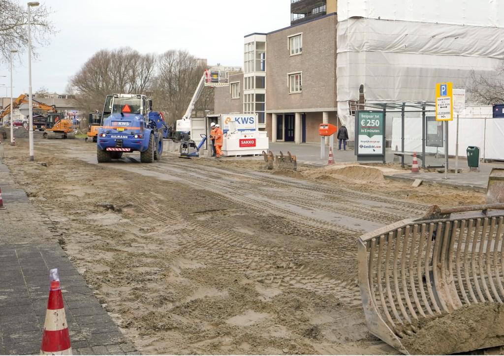 De Eikenlaan is inmiddels op de schop gegaan. Foto: Foto-Ok.nl  © GrootNissewaard.nl