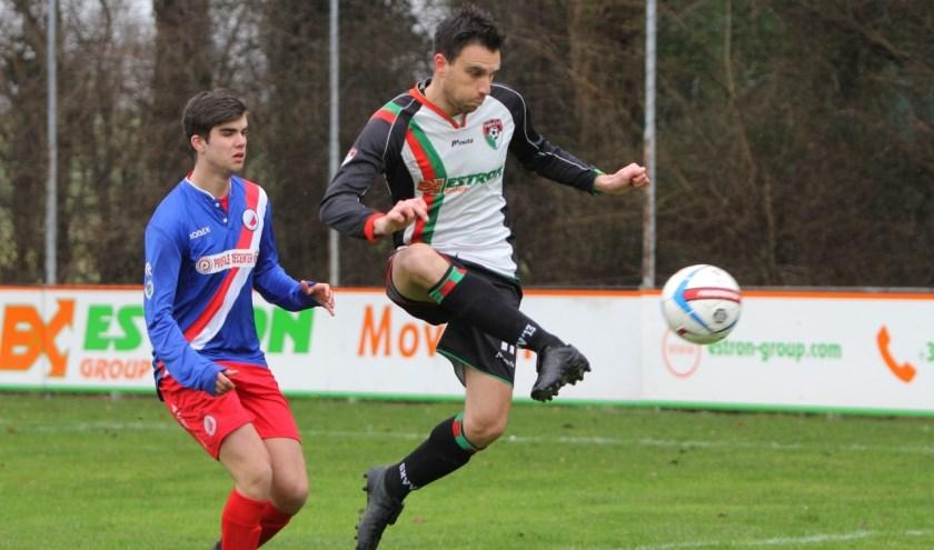 GHVV'13 had zaterdag een makkelijke middag tegen hekkensluiter Piershil. De ploeg scoorde zeven keer.