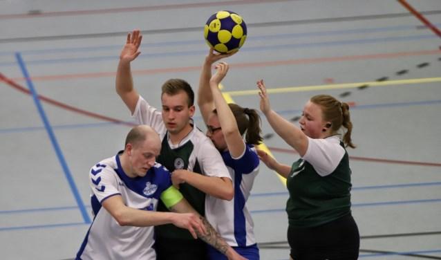 De korfballers van SC Olympia kwamen zaterdag in sporthal Olympia niet tot een zege tegen Thor.