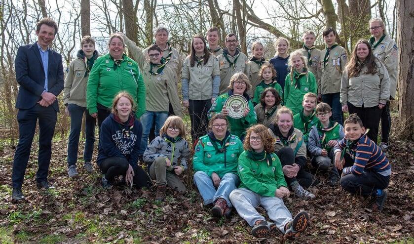 Scoutinggroep De Strandvogels is 80 jaar oud, maar nog vol levenslust. (Foto: Jos Uijtdehaage).