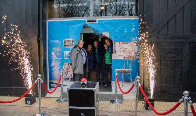 Het vernieuwde VVV Inspiratiepunt in 't Blaeuwe Huus is officieel geopend voor publiek.  Foto: Sam Fish