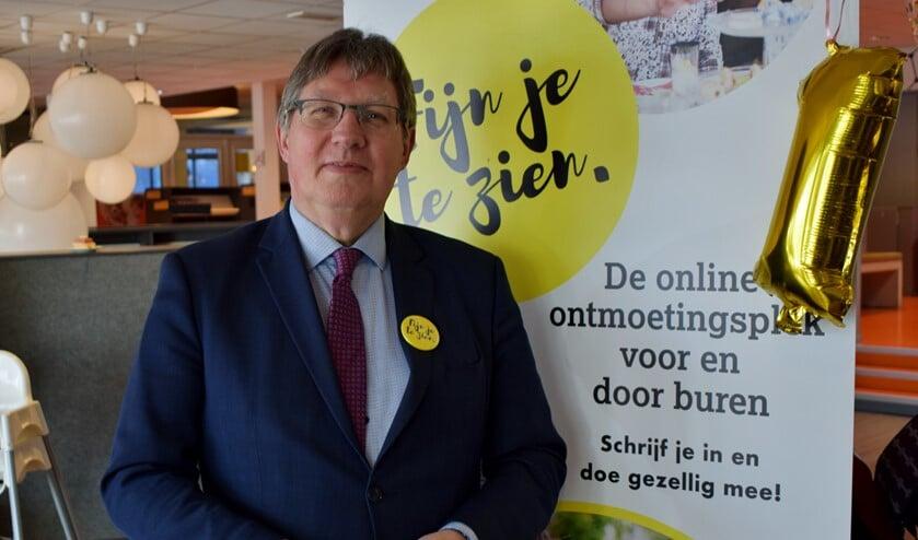 Namens het gemeentebestuur was burgemeester Gregor Rensen aanwezig (Foto: Martin van Gurp)