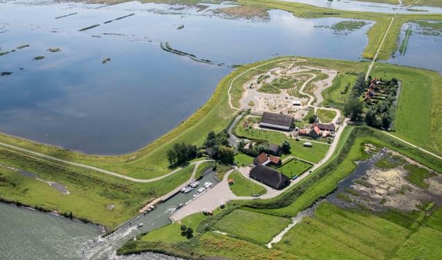 Tiengemeten is een uniek stukje Nederland. (Foto: Joop van Houdt)