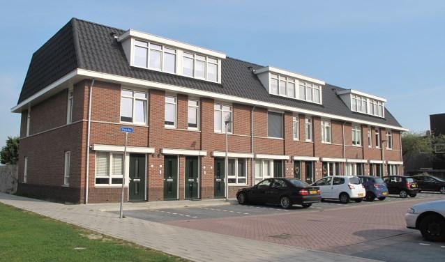 De boven-/benedenwoningen bij de Anna Hoevestraat zijn een goed voorbeeld van starterswoningen