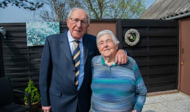 Zeventig jaar later en Suus en Marien zijn nog even gelukkig samen als de dag waarop ze elkaar ontmoetten.  Foto: Sam Fish