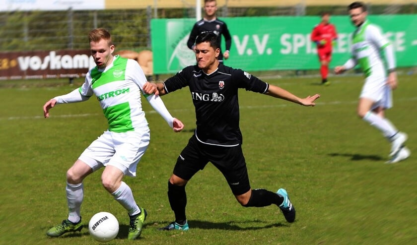 Daan Bourgonje is na een lange lijdensweg weer helemaal terug bij Spijkenisse, en wel met de gelijkmaker.