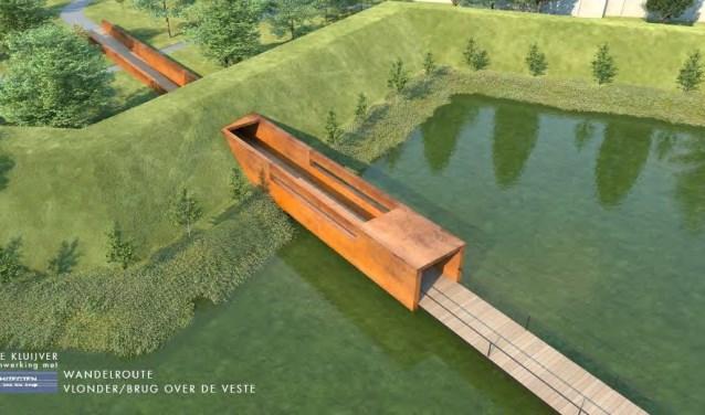 De gewraakte passage bij het Bleijkers Bolwerk - illustratie: HDK architecten