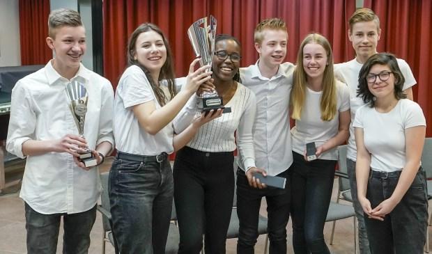 Team Scala Molenwatering werd winnaar in de bovenbouw.