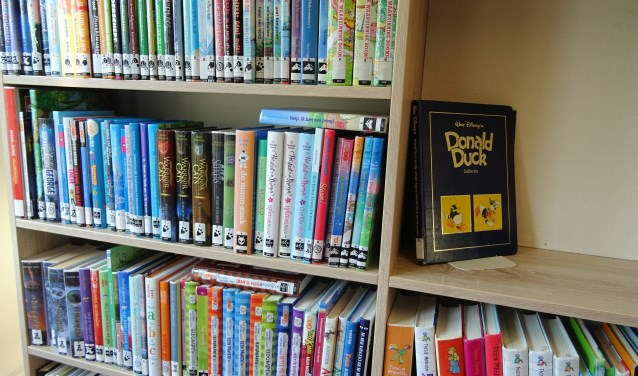 Lezen is leuk, en bevordert taalvaardigheid, zo is het uitgangspunt van de Bibliotheek op School (foto Dorien Kickert)