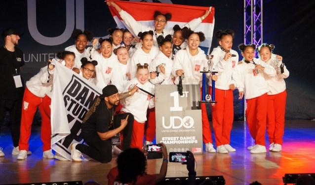 Big Bang tijdens de awardceremonie op UDO.