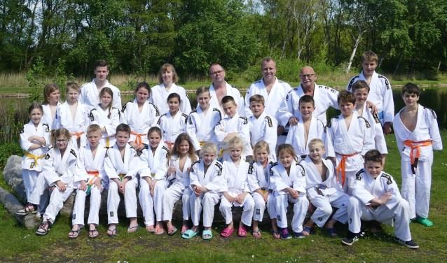 De jeugdjudoka's van JC Ichikan beleefden een spannend superheldenkamp in het Samuel Naardenhuis is Oostvoorne.