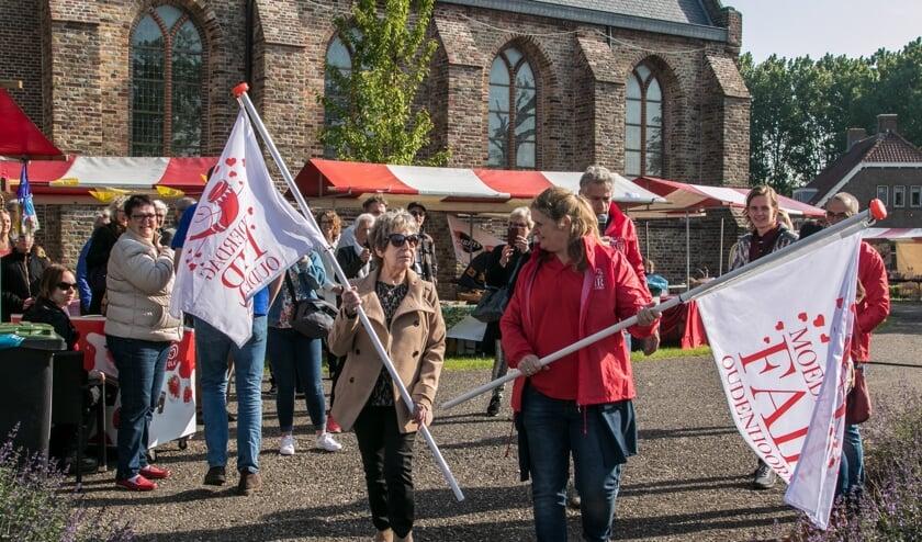 Een deel van de opbrengst van de fair is voor de verbouwing van de kerk