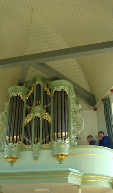 Anne Marie Huizer zal solo spelen op panfluit met begeleiding van het orgel. Piet Bechthum zal het orgel bespelen.