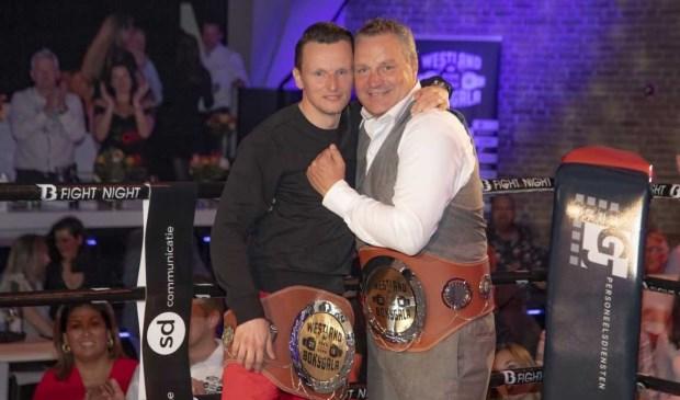 Frank Meijnders en Remmert Keizer kregen de titel 'King of the Ring'.