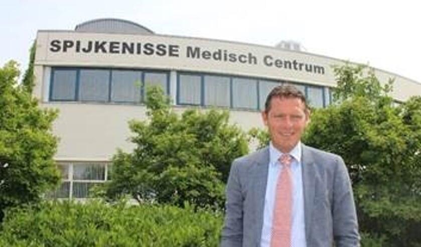 Peter Langenbach, bestuurder Spijkenisse Medisch Centrum